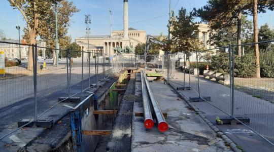 Városliget Gázvezeték rekonstrukció