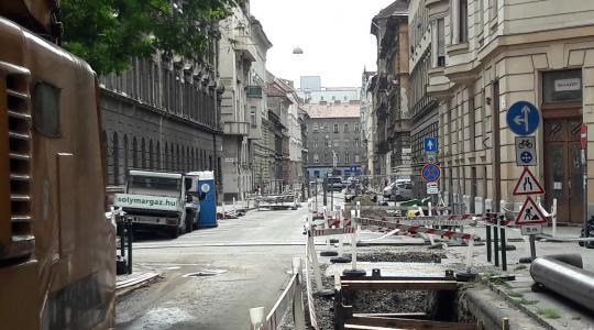 Jósika utcai gázvezeték